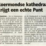 Een echte 'Punt' voor kathedraal Roermond