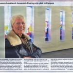 Nieuwste kunstwerk op z'n plek in Kampen
