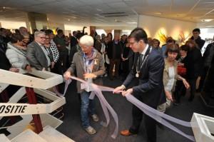 Vele honderden belangstellenden bezochten de opening van de tentoonstelling Passie in Glas.