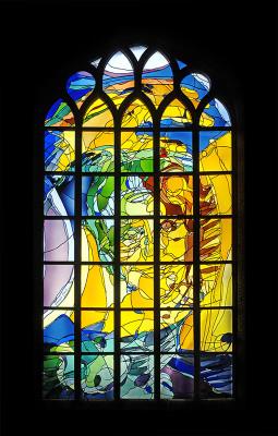 Annemiek Punt Delft glas-in-lood