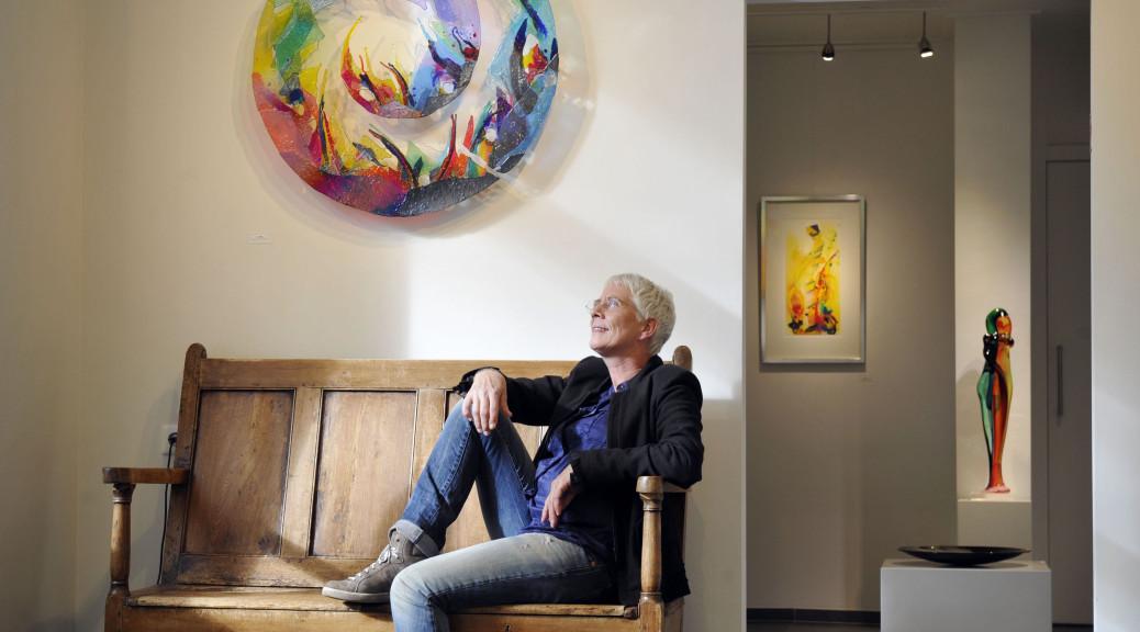 Ootmarsum - Annemiek Punt 40 jaar glaskunst
