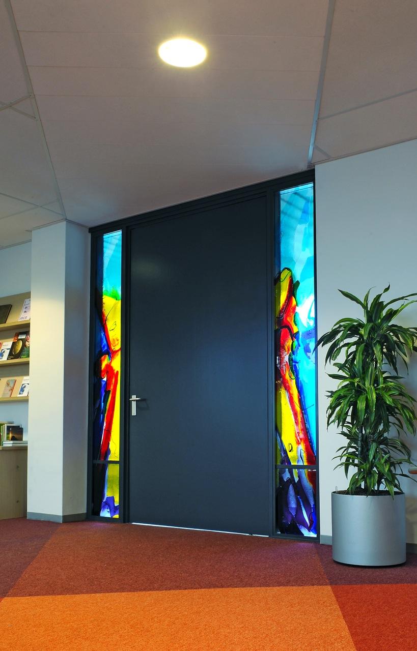 Antonius Ziekenhuis te Nieuwegein | Atelier Galerie Annemiek Punt Ootmarsum, Glaskunst en Schilderkunst