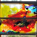 Het kunstwerk van Annemiek Punt voor de Canadese Begraafplaats in Holten | Atelier Galerie Annemiek Punt Ootmarsum, Glaskunst en Schilderkunst