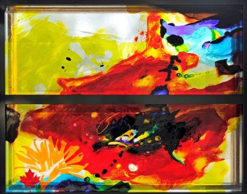 Het kunstwerk van Annemiek Punt voor de Canadese Begraafplaats in Holten | Atelier Galerie Annemiek Punt Ootmarsum Glas & Schilder Kunst