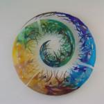 Wandkunstwerk in het Provinciehuis Brabant | Atelier Galerie Annemiek Punt Ootmarsum, Glaskunst en Schilderkunst