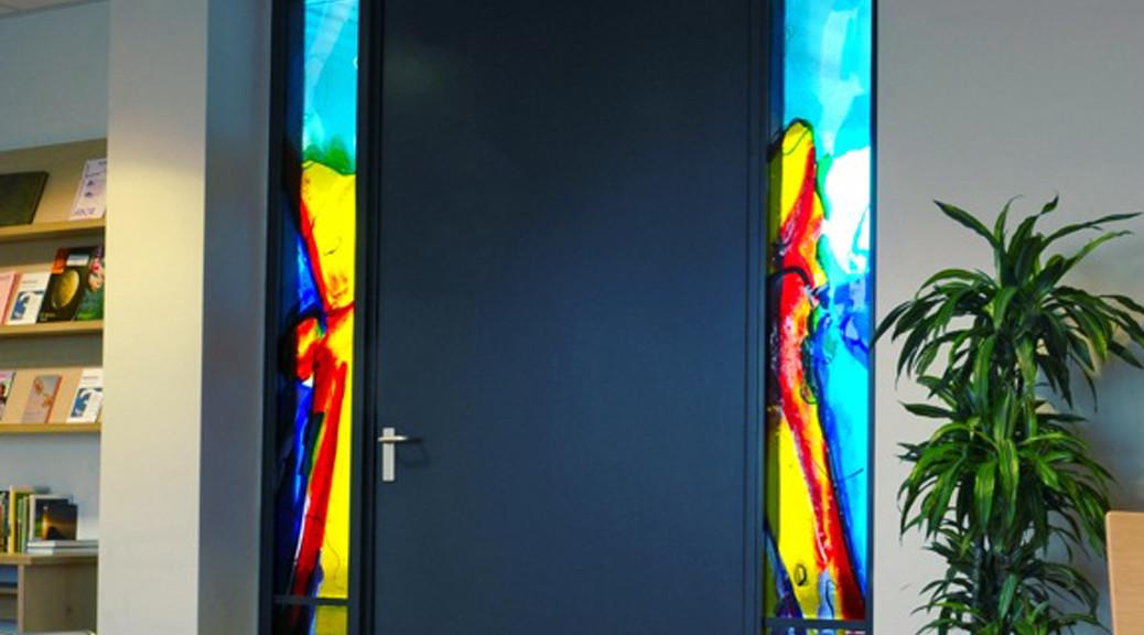 Antonius Ziekenhuis te Nieuwegein | Atelier Galerie Annemiek Punt Ootmarsum Glas & Schilder Kunst