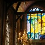 Het Jaïrusraam van Annemiek Punt in de Nieuwe Kerk Delft | Atelier Galerie Annemiek Punt Ootmarsum, Glaskunst en Schilderkunst