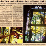'Annemiek Punt geeft visitekaartje af in Nieuwe Kerk in Delft'