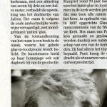 'Margriet onthult nieuw raam in Nieuwe Kerk'