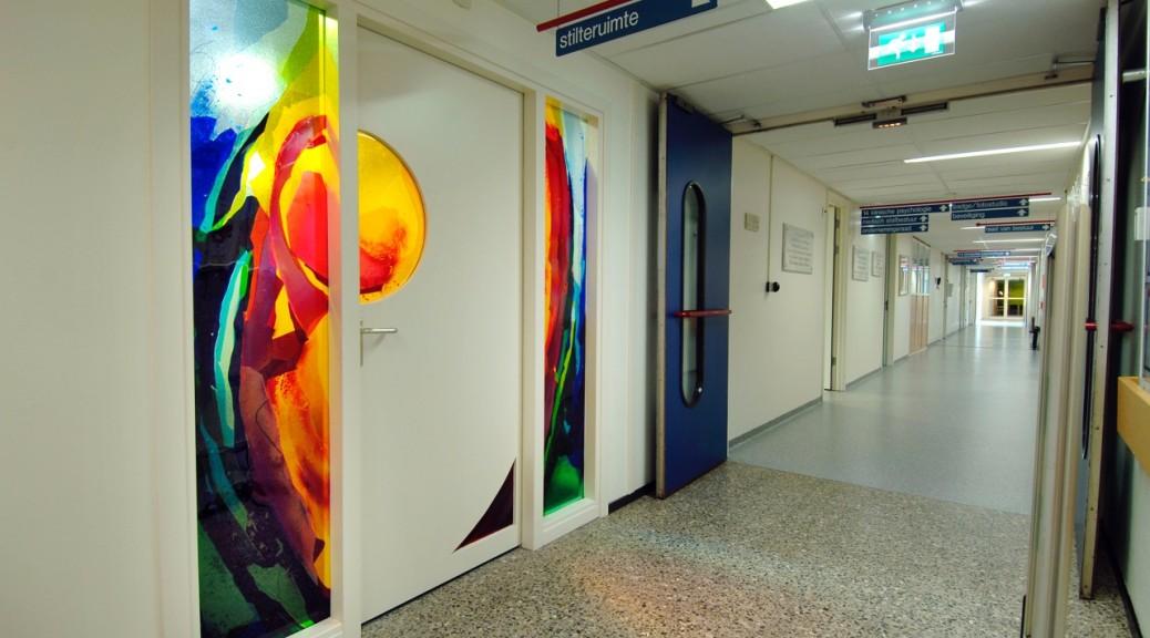 Stiltecentrum Medisch Spectrum Twente | Atelier Galerie Annemiek Punt Ootmarsum Glas & Schilder Kunst
