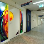 Stiltecentrum Medisch Spectrum Twente | Atelier Galerie Annemiek Punt Ootmarsum, Glaskunst en Schilderkunst