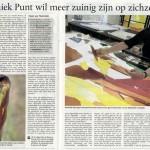 'Annemiek Punt wil meer zuinig zijn op zichzelf'