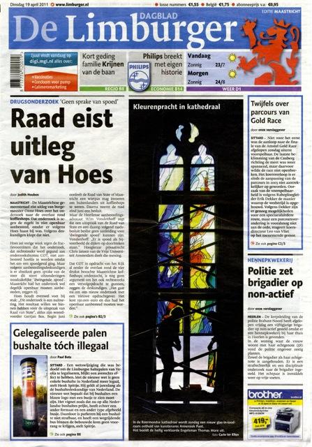 'Kleurenpracht in kathedraal'