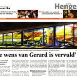 'De wens van Gerard is vervuld'