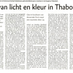 'Spel van licht en kleur in Thaborkerk'