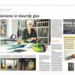 'Expressionisme in kleurrijk glas' | Atelier Galerie Annemiek Punt Ootmarsum Glas & Schilder Kunst