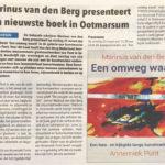 'Marinus van den Berg presenteert zijn nieuwste boek in Ootmarsum'