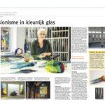 'Expressionisme in Kleurrijk Glas' | Atelier Galerie Annemiek Punt Ootmarsum, Glaskunst en Schilderkunst