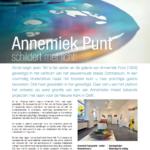 'Annemiek Punt schildert met licht!'