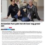 'Annemiek Punt pakt het dit keer nog groter aan'