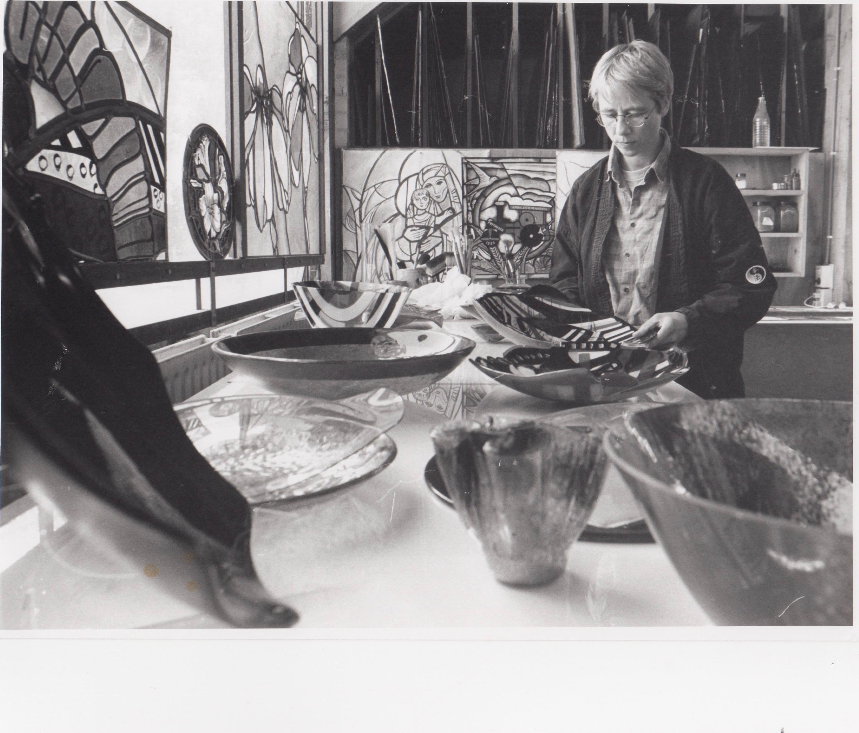 Atelier Galerie Annemiek Punt Ootmarsum, Glaskunst en Schilderkunst