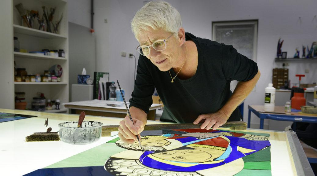 Atelier Galerie Annemiek Punt Ootmarsum Glas & Schilder Kunst