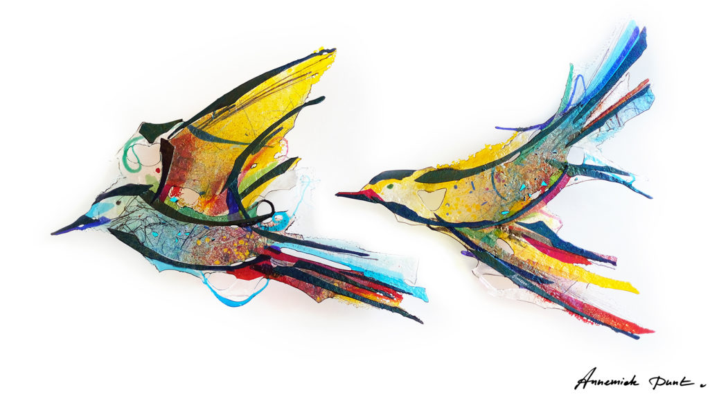 Glaskunst van Annemiek Punt   Atelier Galerie Annemiek Punt in Ootmarsum, Glaskunst en Schilderkunst