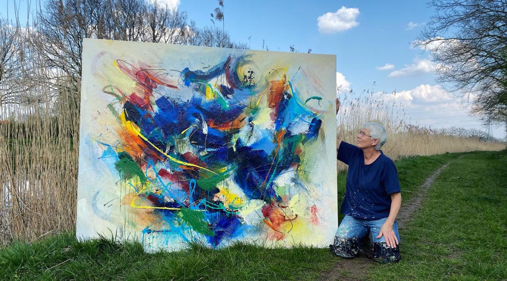 Annemiek Punt | Atelier Galerie Annemiek Punt in Ootmarsum, Glaskunst en Schilderkunst
